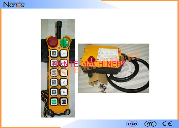Single Speed Wireless Hoist Remote Control Fiberglass F24-12S ISO