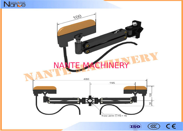 HTR - CC 4/60A Current Collector High Tro Reel System For Conductor Rail