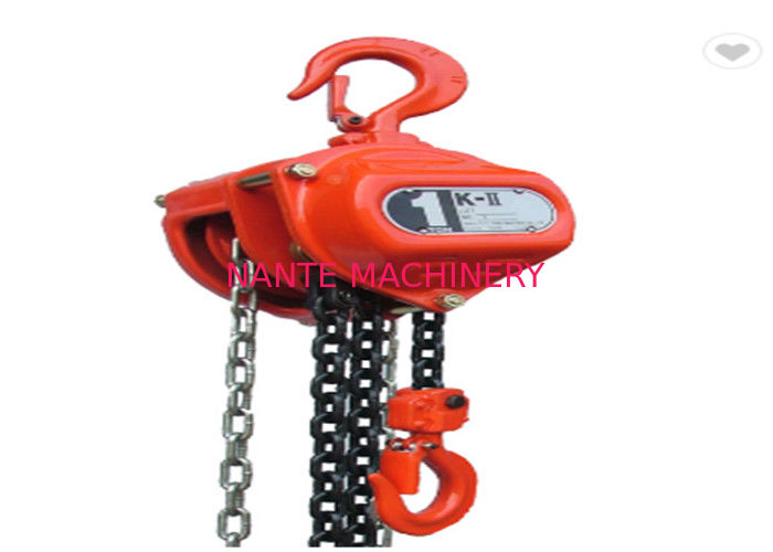 Hoist Rope Guides Moving 1 Ton Electric Chain Hoist For JIB Crane