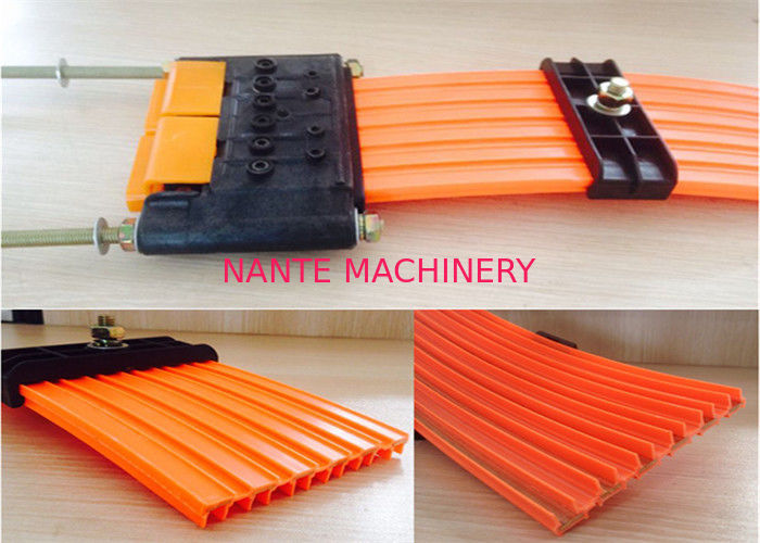 Seamless High Tro Reel Conductor Rail System / Multipole Leads Conductor System