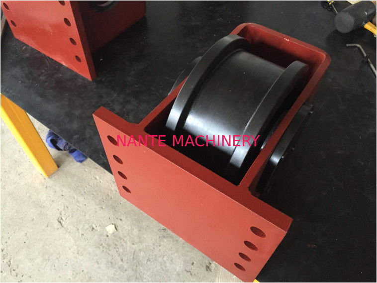 Long Life Gantry Crane Components Hollow Shaft End Truck / End Carriage Bogie Style