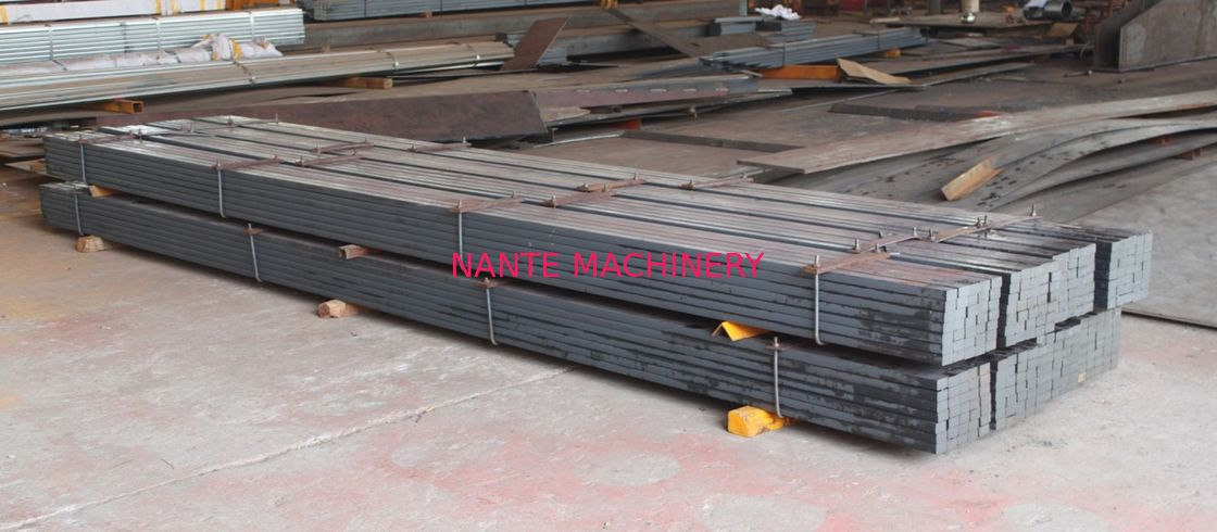 Flat Bar Steel Rail Tracks Crane Spare Parts Material Q345Cr Hot Rolled