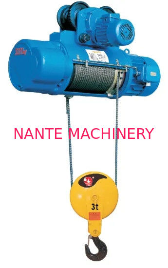 CD1 MD1 Electric Wire Rope Hoist For Overhead Crane With Good Performance