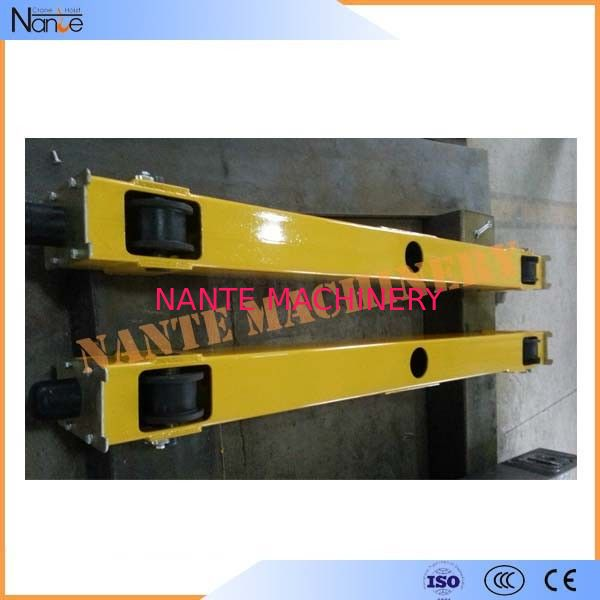 3 Phase 380V 50HZ Crane End Carriage / End Beam With Independently Driven 18m/min