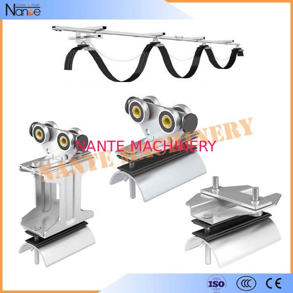 Industrial C Track Festoon System Festoon Cable Trolley For Conveyor System