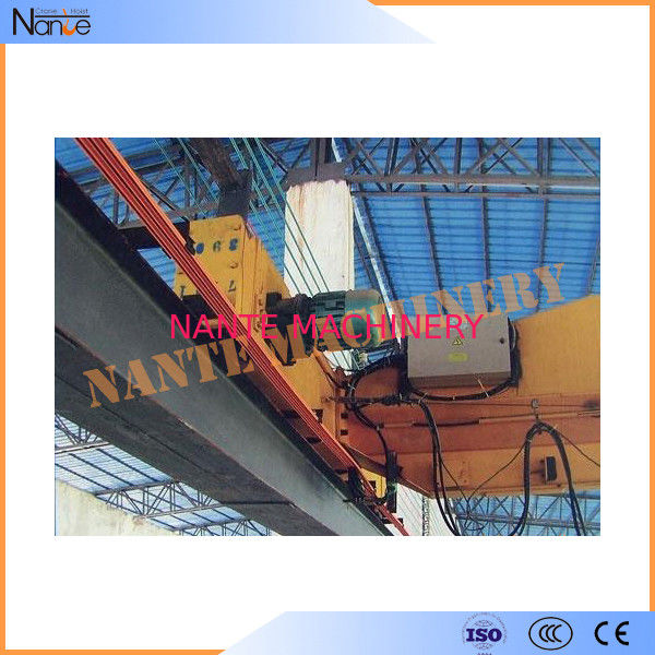 Overhead Crane Conductor Bar High Tro Reel System , 50-140A 600V 4 Phase Outdoor Rails