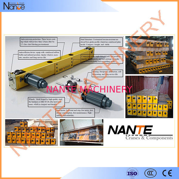 Bridge / Overhead Crane End Carriage / End Truck 16-22.5ton 5.5m-16.5m